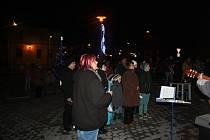 Česko zpívá koledy v Úsově.