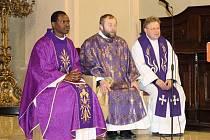 Zábřeh navštívil v neděli 27. listopadu kněz z Rodolpho Baltazar Haiti