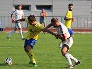 FK Šumperk (ve žlutém) vs. HFK Olomouc