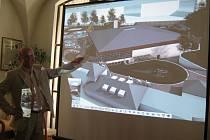 Vizualizace plánovaného centra.