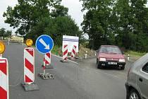 Oprava silnice 1/60 vedoucí přes Červenohorského sedlo k hraničnímu přechodu Bílý potok.