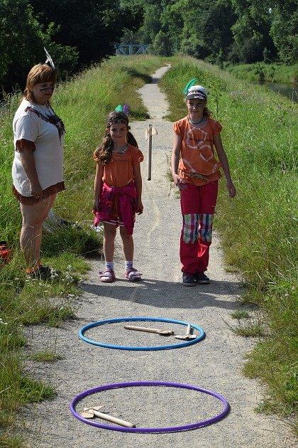 Příměstský indiánský tábor v Leštině