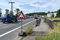 Most v Zábřehu musí po dvou letech projít opětovnou opravou, Ředitelství silnic a dálnic práce reklamovalo.