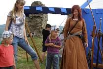 Zpět do středověku se v sobotu 6. července opět vrátil hrad v Brníčku.