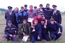 Dobrovolní hasiči v Uhelné