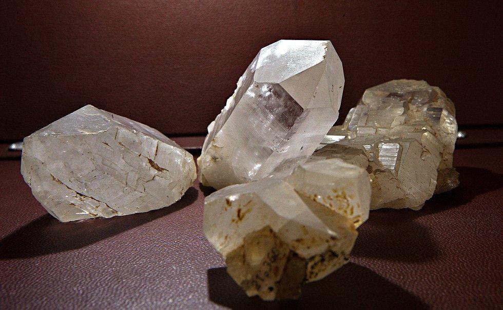 Minerály z lokality Velká Kraš.