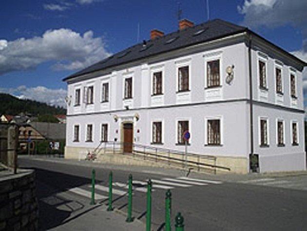 Obecní úřad v Bludově.