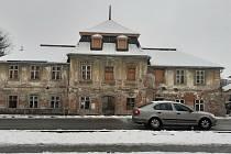 Manufaktura v ulici Gen. Svobody v Šumperku, stav v pátek 29. ledna 2021.