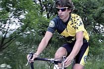 Pavel Zitta během tréninkové jízdy.