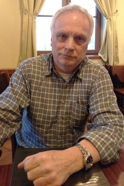 Petr Holínka, výpravčí vželezniční stanici Hanušovice