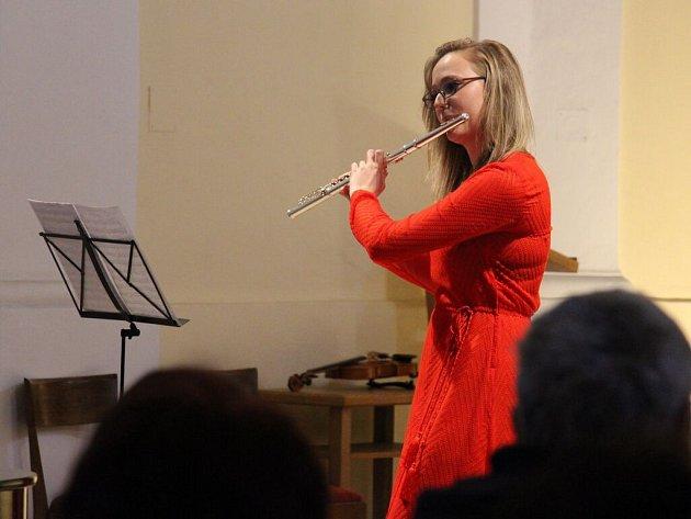 Koncert mladých hudebních nadějí v zábřežském kostele svaté Barbory.