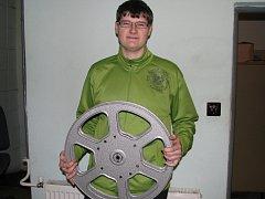 Promítač šumperského kina Jan Glanc.