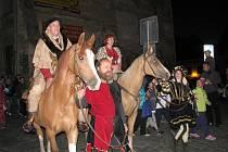 Průvod zahajoval v pátek 1. června večer Slavnosti města Šumperka.
