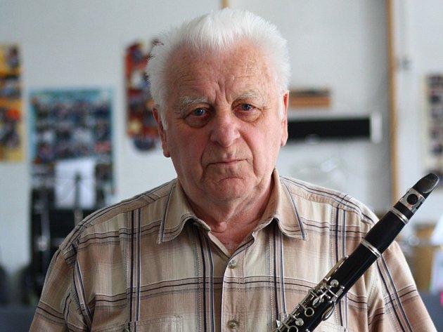 Zakladatel a bývalý dirigent jesenického orchestru Vladimír Vraňovský.