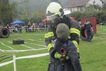 O titul Železný hasič Zábřeha se v sobotu 12. října utkali dětští i dospělí hasiči z celého regionu.