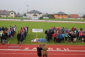 Otevírání zábřežského stadionu 25. 9. 2019.