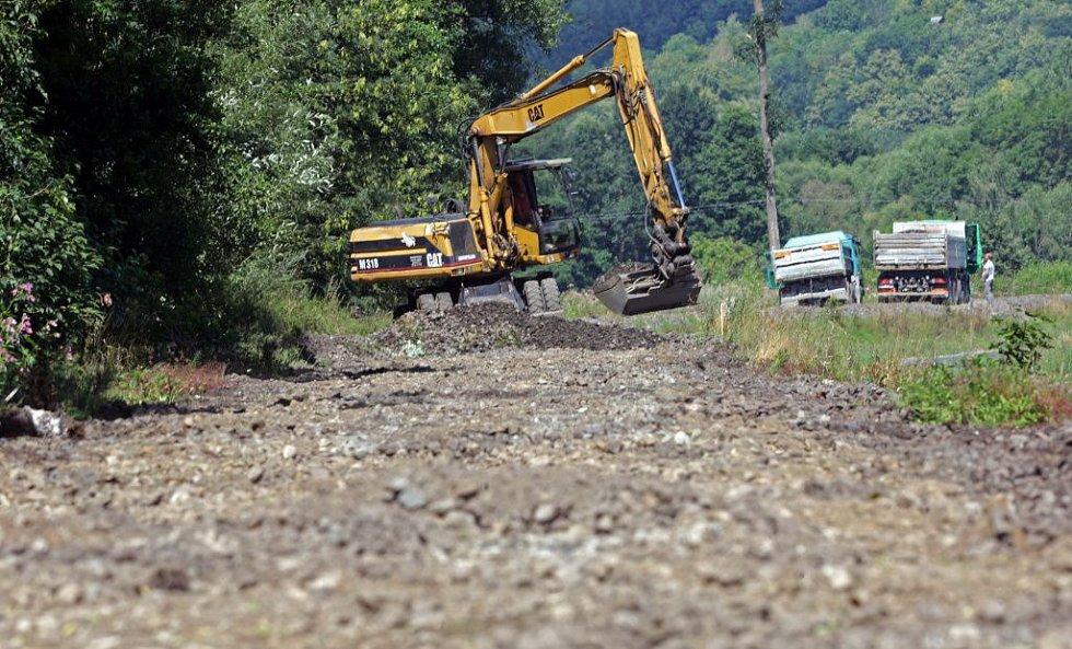 U Bludova. Rekonstrukce železniční trati 292 Šumperk - Hanušovice - Jeseník