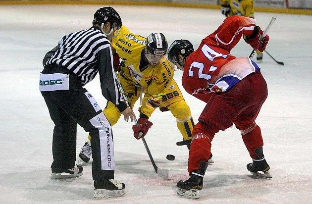 Olomouc versus Šumperk (žluté dresy)