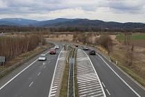 Dálniční obchvat Postřelmova bude v těchto místech pokračovat dalším úsekem na Šumperk.