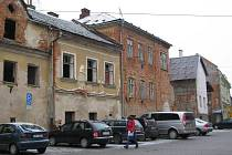 Centrum Šumperku hyzdí ruiny.