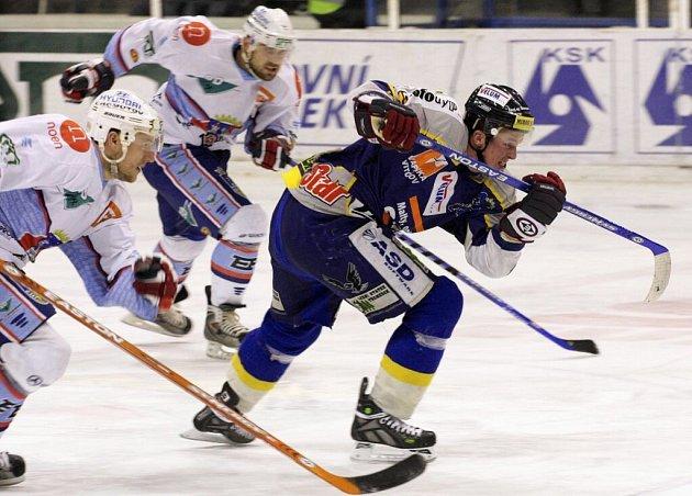Ani takovýto úprk patrně šumperským hokejistům k záchraně nepomůže.