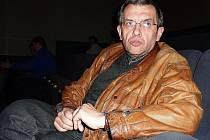 Antonín Janhuba na jednání zábřežského zastupitelstva 14. dubna 2010