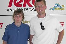 Denis a Jakub Kindlovi (zleva). Sejdou se někdy v NHL?