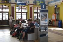 Hala šumperského nádraží.
