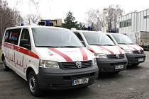Nové sanitky šumperské nemocnice