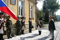Památku těch, kteří obranu státu v roce 1938 zaplatili životem, si ve středu 22. září připomněli ve Vidnavě, Velké Kraši a v Nových Vilémovicích