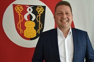Starosta Dolních Studének Radim Sršeň.