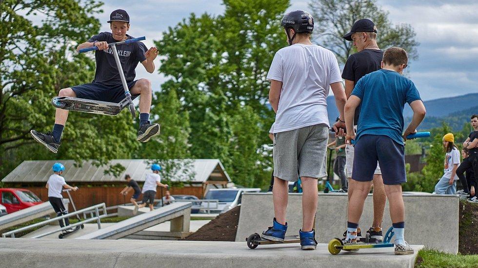 Otevření nového skateparku v Jeseníku