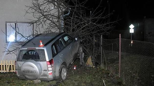 Nehoda Suzuki v Libině