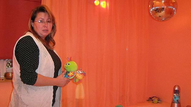 Senzorická místnost Ústavu sociální péče pro mládež v Jeseníku