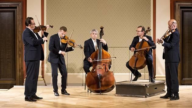 Smyčcové kvinteto členů České filharmonie