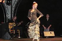 Flamencová skupina Aires del Sur vystoupila ve čtvrtek 11. srpna v Šumperku
