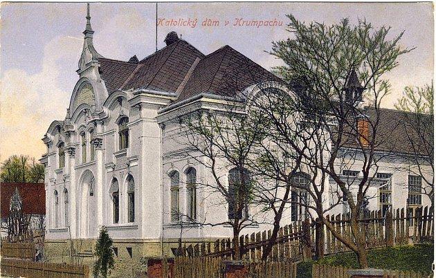 Katolický dům, sídlo spolku Metoděj, ve 20. letech 20. století