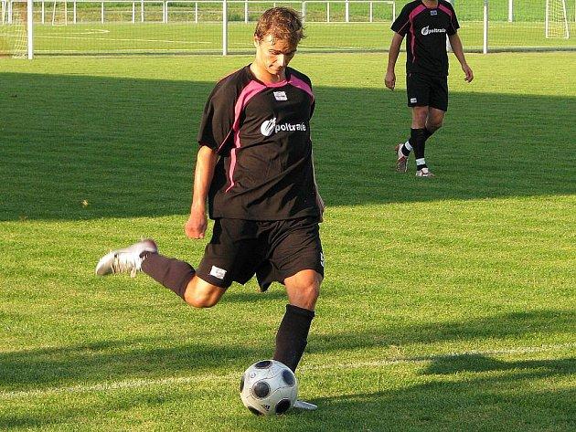 Mohelnický fotbalista