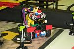 Finále soutěže First Lego League v jesenickém Pentagonu