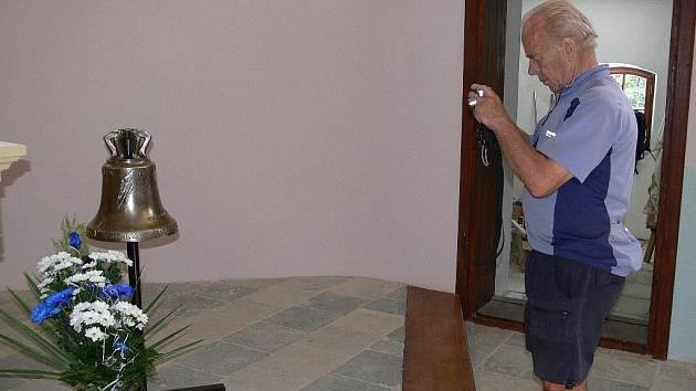 Nový zvon pro pekařovskou kapli byl vysvěcen v sobotu