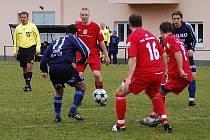 Zábřeh versus Hulín (červené dresy)