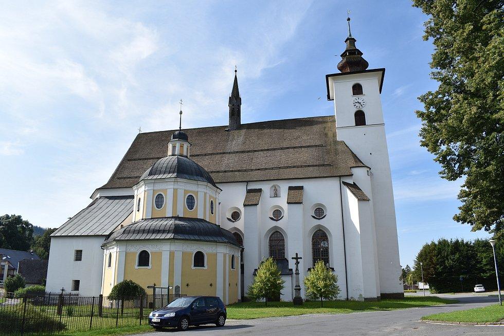 Velké Losiny - kostel.