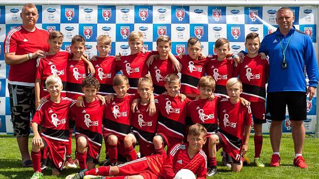 Fotbalisté U11 z FK Šumperk. Ilustrační foto