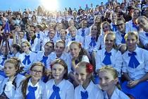 Šumperský dětský sbor Motýli přivezl ze soutěže v Řecku zlato.