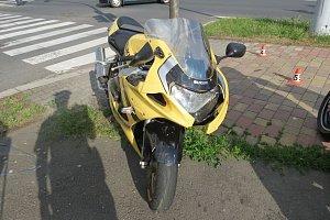 Havárie v Jesenické ulici v Šumperku