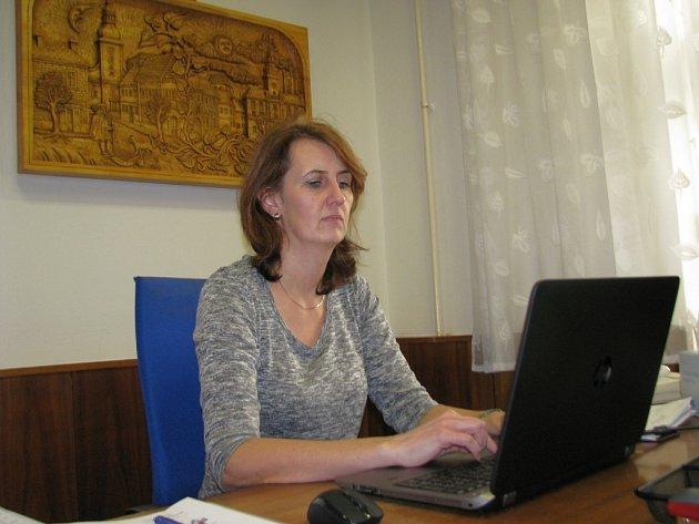 Starostka Loštic Šárka Havelková Seifertová.