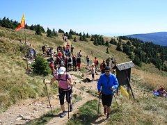 Pochod k prameni Moravy se letos koná už po sedmadvacáté. Tradičně má mezinárodní účast.