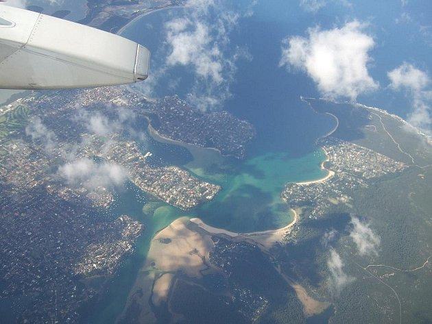 Austrálie z výšky
