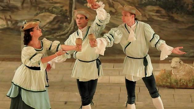 Taneční pastorale na zámku