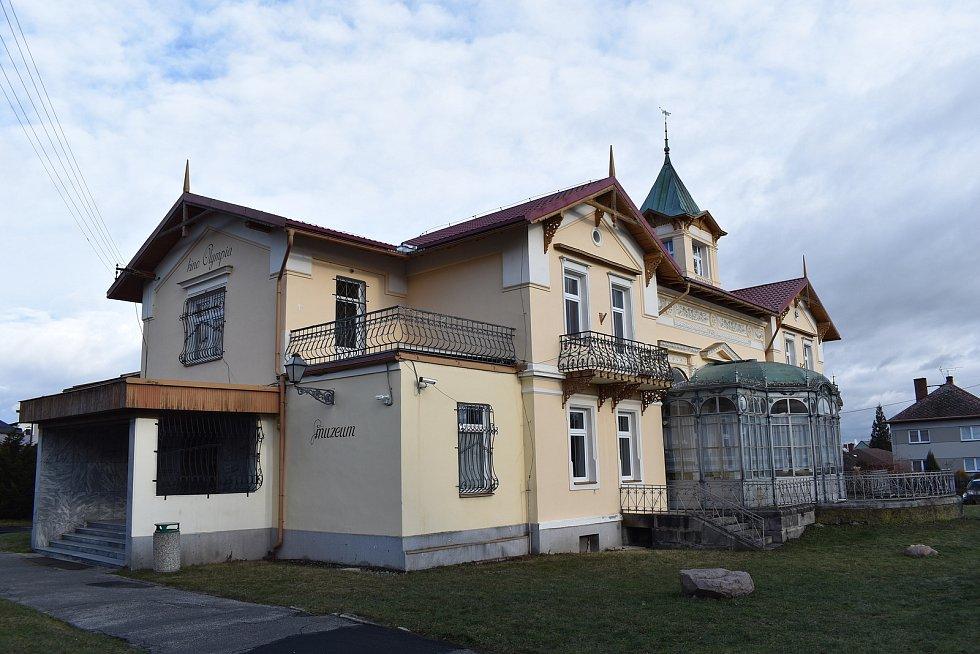 Město Javorník. Kulturní dům